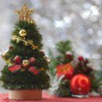 クリスマスツリーは何歳から?子供が倒す対策とツリーの大きさは?