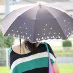 紫外線対策に日傘の色は関係ある?完全遮光なら照り返しも大丈夫?